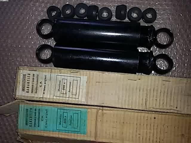Tbest Ammortizzatori Anteriori da 100 mm Ammortizzatore addensatore Ammortizzatore Adatto per Modello di Auto 1//10 2WD Blu B-ECX1095B