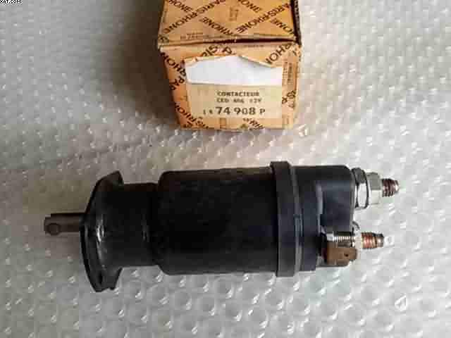 Lucas SRB325/12/V avviamento solenoide originale